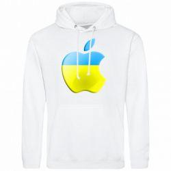 Мужская толстовка Apple Ukraine - FatLine