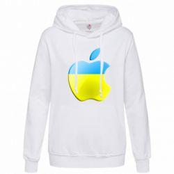 Женская толстовка Apple Ukraine