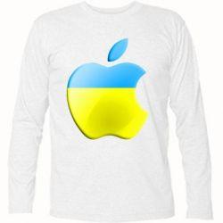 Футболка с длинным рукавом Apple Ukraine