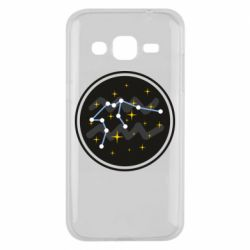 Чехол для Samsung J2 2015 Aquarius constellation