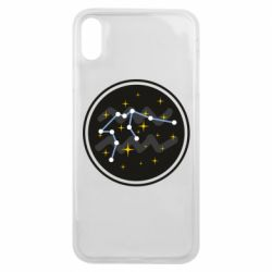 Чехол для iPhone Xs Max Aquarius constellation