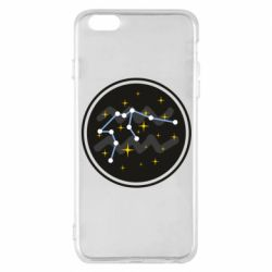 Чехол для iPhone 6 Plus/6S Plus Aquarius constellation