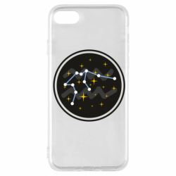 Чехол для iPhone 7 Aquarius constellation