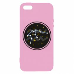 Чехол для iPhone5/5S/SE Aquarius constellation