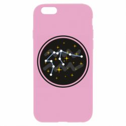 Чехол для iPhone 6/6S Aquarius constellation
