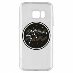 Чехол для Samsung S7 Aquarius constellation