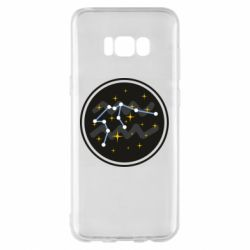 Чехол для Samsung S8+ Aquarius constellation