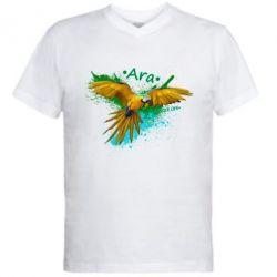 Купить Мужская футболка с V-образным вырезом Ara, FatLine