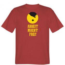 Мужская футболка Arbeit Macht Ftei Hitler - FatLine
