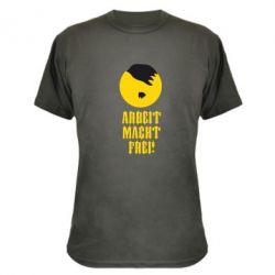 Камуфляжная футболка Arbeit Macht Ftei Hitler - FatLine