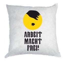 Подушка Arbeit Macht Ftei Hitler - FatLine
