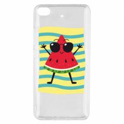 Чехол для Xiaomi Mi 5s Арбуз на пляже