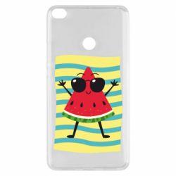 Чехол для Xiaomi Mi Max 2 Арбуз на пляже