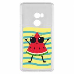 Чехол для Xiaomi Mi Mix 2 Арбуз на пляже