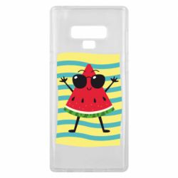 Чехол для Samsung Note 9 Арбуз на пляже