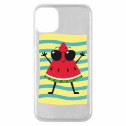 Чехол для iPhone 11 Pro Арбуз на пляже