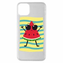 Чехол для iPhone 11 Pro Max Арбуз на пляже