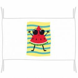 Флаг Арбуз на пляже