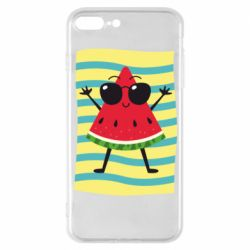 Чехол для iPhone 7 Plus Арбуз на пляже