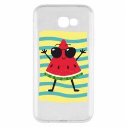 Чехол для Samsung A7 2017 Арбуз на пляже