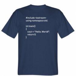 Чоловіча футболка Arduino code