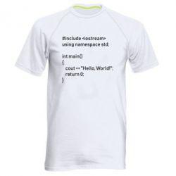 Чоловіча спортивна футболка Arduino code