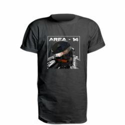 Удлиненная футболка Area-14
