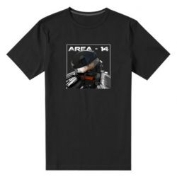 Мужская стрейчевая футболка Area-14