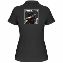 Женская футболка поло Area-14
