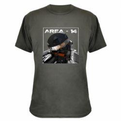 Камуфляжная футболка Area-14