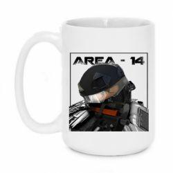 Кружка 420ml Area-14