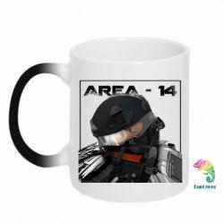 Кружка-хамелеон Area-14