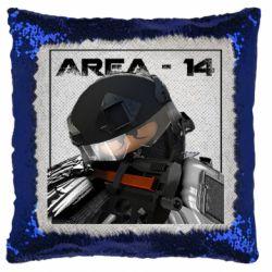Подушка-хамелеон Area-14