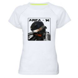 Женская спортивная футболка Area-14