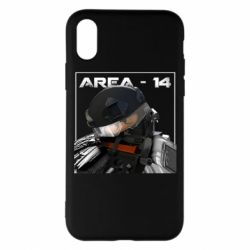 Чехол для iPhone X/Xs Area-14