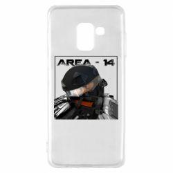 Чехол для Samsung A8 2018 Area-14