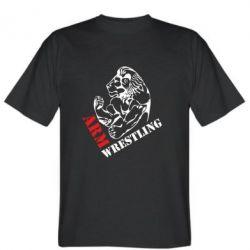 Мужская футболка Arm Wrestling - FatLine