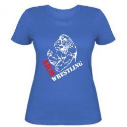 Женская футболка Arm Wrestling