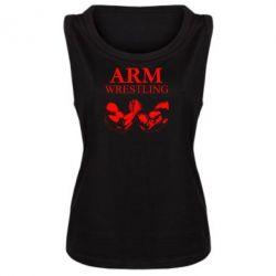 Майка жіноча Arm Wrestling