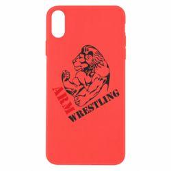 Чохол для iPhone Xs Max Arm Wrestling