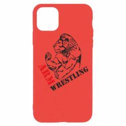 Чохол для iPhone 11 Pro Arm Wrestling