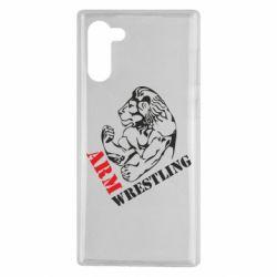 Чохол для Samsung Note 10 Arm Wrestling