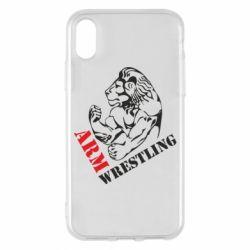 Чохол для iPhone X/Xs Arm Wrestling