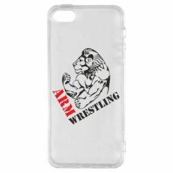 Чохол для iphone 5/5S/SE Arm Wrestling