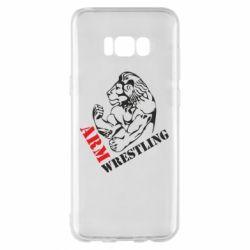 Чехол для Samsung S8+ Arm Wrestling