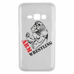 Чехол для Samsung J1 2016 Arm Wrestling