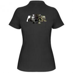Купить Женская футболка поло Arma 3 logo, FatLine