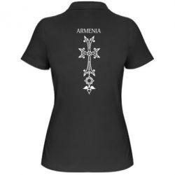 Женская футболка поло Armenia - FatLine