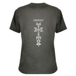 Камуфляжная футболка Armenia - FatLine