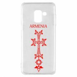 Чехол для Samsung A8 2018 Armenia